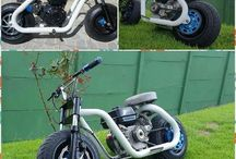 moto con caño