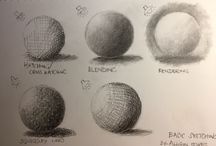 My Drawing Practice exercises.