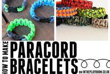 PARACORD BRACELETS / always a new beginner
