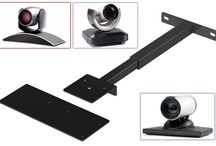 Mounts & Brackets / Audio Visual Furniture matching mounts secure displays to the cart safely and elegantly available for single, dual or single extra large monitors. We also have a large selection of codec and camera brackets. Check all mounts & brackets at http://www.video-furn.com/mounts-brackets.html