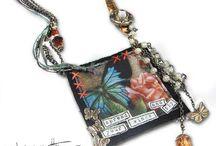 Fabric and Fiber Jewelry