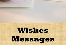 Wishes and messages for any occasion