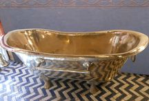 Hammered nickel silver bath tub / Amazing and outstanding hammered nickel silver bath tub totally  handmade in Morocco.