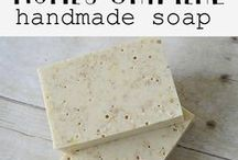 Homemade body products-soaps