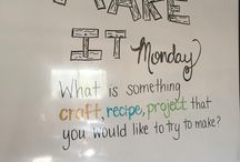 Monday Whiteboard
