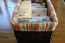 Basket / Some ideas to organize your things...