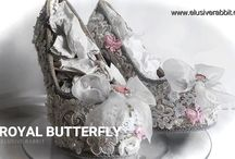 Royal Butterfly Heels