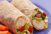 Lunches - sandwiches, wraps, and more