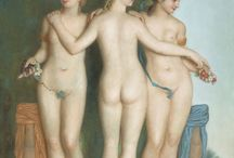 Nudes / Nudes in paintings, illustrations etc.