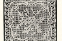 Motifs and squares -vintage knitting and crochet patterns to make on their own or repeat for bigger items