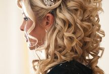 Wedding hair inspiration / Wedding hair styles, hair inspiration, celebrations, getting married,
