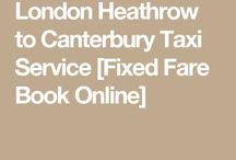 Heathrow Airport to Canterbury Kent
