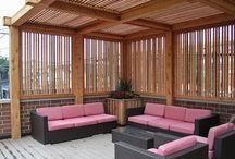 Terrazas en madera