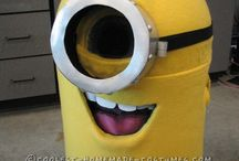Despicable Me Inflatable Suit Costume