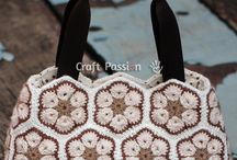Crochet bag, purse