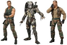 Predators Series 8 / The 8th Series in the #1 selling Predator collection celebrates the 25th Anniversary of the original 1987 Predator film with the long awaited and much anticipated debut of Arnold Schwarzengger as Dutch Schaefer! For the first time the hero joins the line and is presented in 2 different versions.
