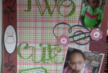 Scrapbook Layouts / I love to get inspired by looking at other scrapbookers layouts