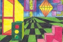 1 Point Perspective / by Paula Lubrano