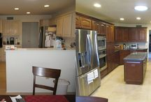 Kitchen Remodels Before and After / Amazing kitchen remodeling transformations from beginning to end!