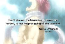 Fairy Tail / One: You must never reveal sensitive information about Fairy Tail to others for as long as you live.   Two: You must never use former contacts met through your being in the guild for personal gain.   Three: Though our paths may have diverged, you must continue to live out your life with all your might, you must never consider your own life to be something insignficant , and you must never forget about your friends who loved you
