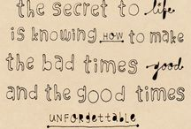 Words to Live By / by Jill Jaruzel-Webster