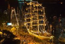 Finał TSR 2007 / Podczas finału The Tall Ships Races w 2007 roku do Szczecina zawinęły największe i najpiękniejsze żaglowce z całego świata. Na Wałach Chrobrego mogliśmy podziwiać jednostki, takie jak Cuauhtemoc, Lord Nelson, Sedov, Kruzenshtern, Chopin, Dar Młodzieży, czy największy wycieczkowiec świata The World. Na blisko 100 jachtach i żaglowcach do miasta przypłynęło wówczas 3,5 tys. członków załóg z 35 krajów. W tym czasie teren zlotu odwiedziło około 2 mln osób.
