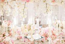 Kytice na svadobný stôl