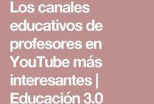 Canales youtube educativos