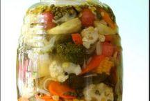vegetales en vinagre