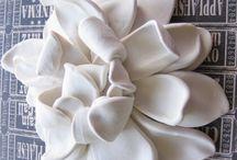 fleurs en ceramics