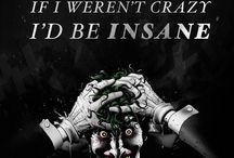 crazy joker and the dark batman