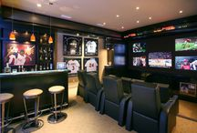 Game Roomz and Man Cavez / A game room and a man cave are NOT complete Without the PERFECT Flooring!