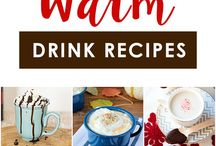 Winter Night Caps / Fun beverage recipes to keep you warm on cold winter nights.