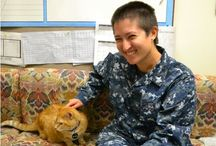 """Pets and Veterans: Better Together / Adoption """"tails"""" from Pets for Patriots"""