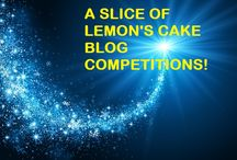 A Slice of Lemon's Cake Blog Competitions!