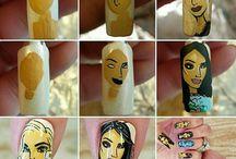 Kardashian- Nail Art