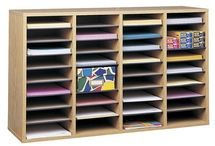 Mail Room Pigeon Holes / Mail room furniture, pigeon holes, post room furniture. literature sorting. Many styles and finishes to choose from. Great for staff rooms, receptions, office pigeon holes and literature sorting.