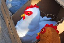 Preschool: chickens