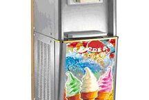 Zmrzlinovače / Výroba zmrzliny.