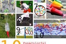 Keep the kids busy  / Random things to keep the kids occupied  / by Nicole Smith