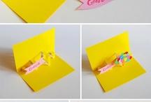 DIY pop up card
