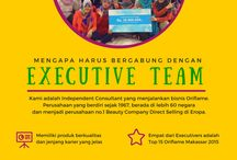Executive Team / Togetherness, spirit and passion in Oriflame :)