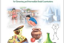 Drawing Book / Drawing book for elementary and intermediate grade exam