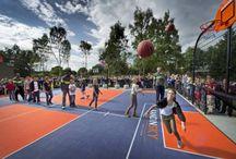 Highschool court multi sport / Multicourt