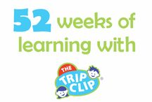 52 Weeks of Learning with The Trip Clip / I really love all of those hidden ways there are to teach my kids something when they don't even know they're learning.   Each week in 2016 I will share a new way you can use The Trip Clip as a learning tool.