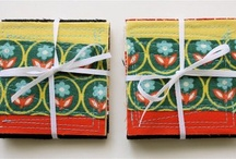 MADE--gift wrapping and cards
