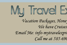 My Travel Expression / Are you planing on making a trip in the next few months well don't look to far I can book your trip today check me out and see what I have going on now... / by Amanda Silverio