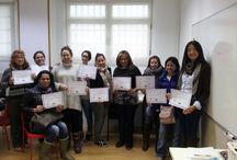 Alumnas Uñas y Estética / Alumnos de los cursos en Uñas y Estética