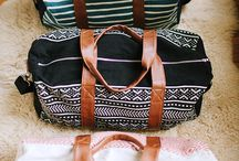 LUGGAGE and OVERNIGHT BAGS / by Halee Tharin Nolte