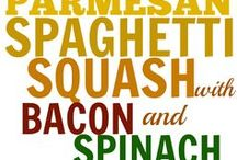 spaghetti squash / by Cindy Criswell